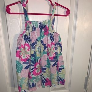 Girls Carters Colorful Flower Top Size 5t